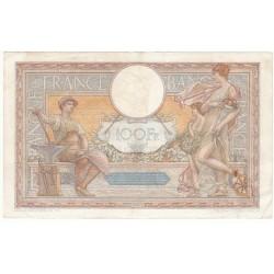 100 Francs LUC OLIVIER MERSON 30-03-1933 Fayette 24.12