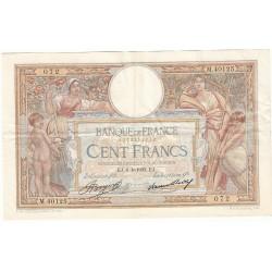 100 Francs LUC OLIVIER MERSON 06-04-1933 Fayette 24.12