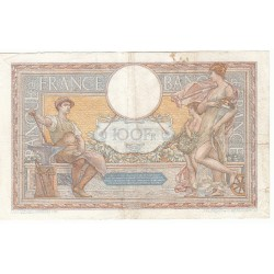 100 Francs LUC OLIVIER MERSON 16-11-1933 Fayette 24-12