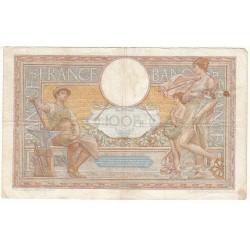 100 Francs LUC OLIVIER MERSON 30-09-1937 Fayette 25.2
