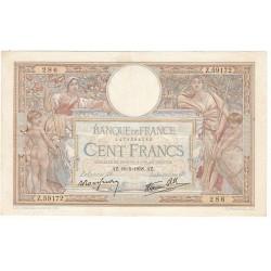 100 Francs LUC OLIVIER MERSON 19-05-1938 Fayette 25.19