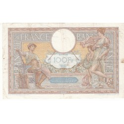 100 Francs LUC OLIVIER MERSON 07-07-1938 Fayette 25.25