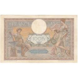 100 Francs LUC OLIVIER MERSON 06-04-1939 Fayette 25.45