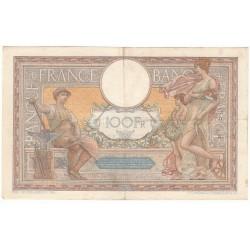 100 Francs LUC OLIVIER MERSON 14-09-1939 Fayette 25.49