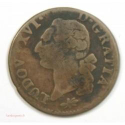 Louis XVI – SOL 1790 D LYON