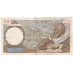 100 Francs SULLY 08-06-1939 TB Fayette 26.2