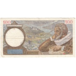 100 Francs SULLY  24-08-1939 TB Fayette 26.5