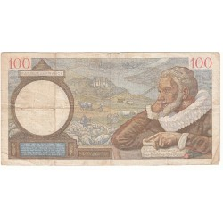 100 Francs SULLY 05-10-1939 TB Fayette 26.9
