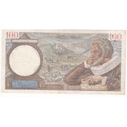 100 Francs SULLY 14-03-1940 TTB  Fayette 26.25