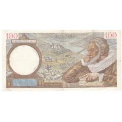 100 Francs SULLY 11-07-1940  TTB  Fayette 26.33