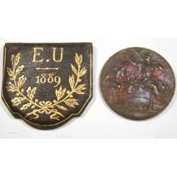 Médaille Exposition Universelle 1889 par Trovis Bottée