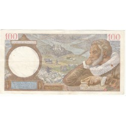 100 FRANCS SULLY 02-10-1941 Fayette 26.58