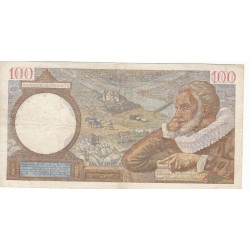100 FRANCS SULLY 04-12-1941 Fayette 26.62