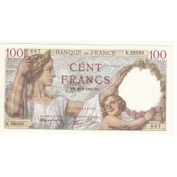 100 FRANCS SULLY 29-01-1942 NEUF Fayette 26.65