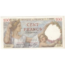 100 FRANCS SULLY 02-04-1952 Fayette 26.69