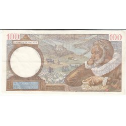 100 FRANCS SULLY 02-04-1942 Fayette 26.69