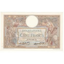 100 FRANCS LUC OLIVIER MERSON 10-09-1931 SPL Fayette 24.10