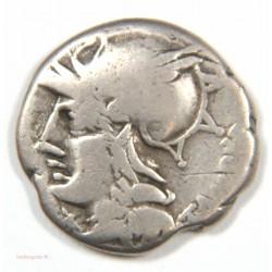 République Romaine Denier Anonyme 1er siècle AV JC