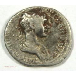 Romaine – Denier de TRAJAN – 98-117 ap. JC