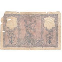 100 FRANCS BLEU ET ROSE 16-06-1906  B