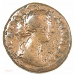 Romaine –As de FAUSTINA-DIVA – 176 ap. JC