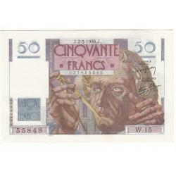 50 FRANCS LE VERRIER 02-05-1946 SPL Fayette 20.3