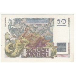 50 FRANCS LE VERRIER  02-03-1950  NEUF Fayette 20.14
