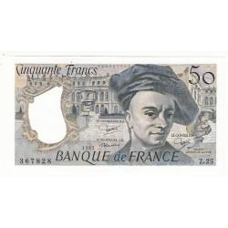50 FRANCS QUENTIN DE LA TOUR 1981 NEUF Fayette 67.7