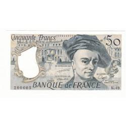 50 FRANCS QUENTIN DE LA TOUR 1987 NEUF Fayette 67.13