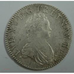 ECU Vertugadin LOUIS XV 1716 L BAYONNE fn – TTB R4