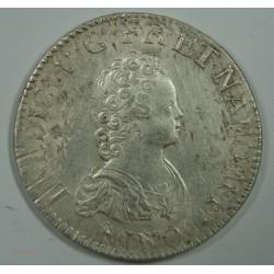 ECU Vertugadin LOUIS XV 1716 A PARS rf – SUP