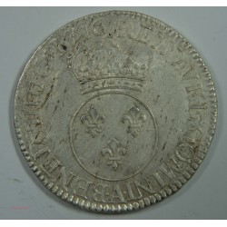 ECU Vertugadin LOUIS XV 1716 A PARIS rf – TTB+