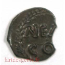 NIMES – Obole NEM COL – Nemausus – 40 av. J.C
