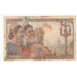20 FRANCS PECHEUR 12-02-1942 TB L'ART DES GENTS