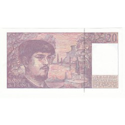 20 FRANCS DEBUSSY 1990 NEUF Fayette 66bis.1