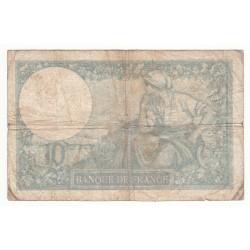 10 FRANCS MINERVE 17-12-1936   TB   Fayette 6.17