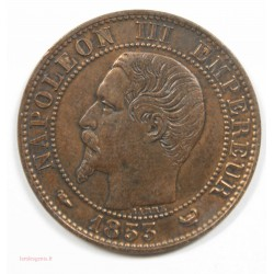 Type 5 centimes Napoléon III – Visite de Lille 1853