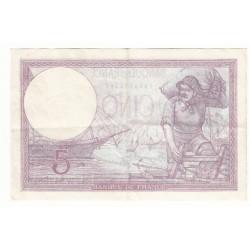 5 FRANCS VIOLET 06-04-1933 TTB  Fayette 3.17