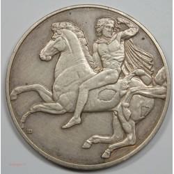 Médaille Cavalier GREC – 440 av Jc. Argent 1er titre