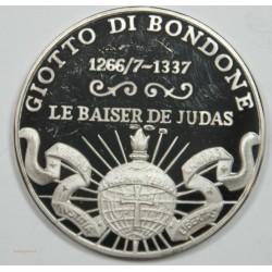 Médaille Argent – GIOTTO DI BONDONE – LE BAISER DE JUDAS
