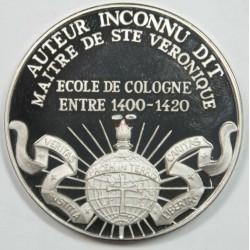 Médaille Argent – AUTEUR INCONNU DIT MAITRE DE STE VERONIQUE