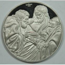 Médaille Argent – HENDRICK TERBRUGGHEN – INCREDULITE DE THOMAS