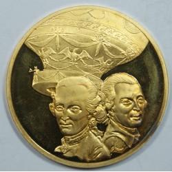 Médaille Vermeil – PILAR DE ROZIER et MARQUIS D'ARLANDES