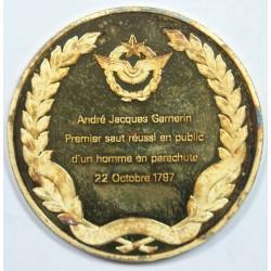 Médaille Vermeil – ANDRE JACQUES GAMERIN