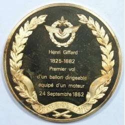 Médaille Vermeil – HENRI GIFFARD – 1825-1882