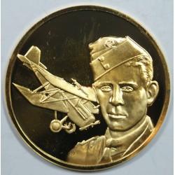 Médaille Vermeil – MAJOR E. MANNOCK – 1887-1918