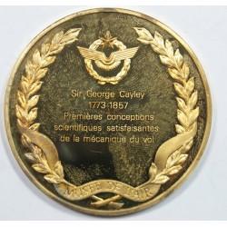 Médaille Vermeil – SIR GEORGES CAYLEY – 1773-1857