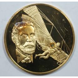 Médaille Vermeil – OTTO LILLENTHAL – 1848-1896