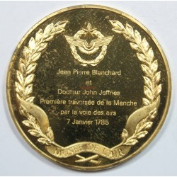 Médaille Vermeil – JEAN PIERRE BLANCHARD et Dr JOHN JEFFRIS