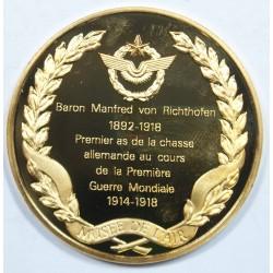 Médaille Vermeil – BARON MANFRED VON RICHTHOFEN